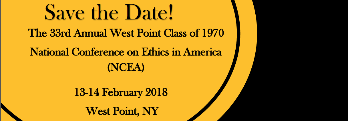 National Conference on Ethics in America