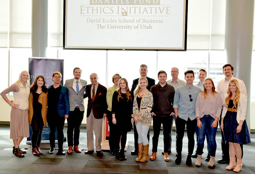 Daniels Fund Ethics Initiative Rising Star interns honored